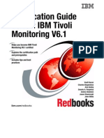 Certification Guide Series IBM Tivoli Monitoring v 6.1 Sg247187