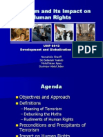Terrorism and Human Rights