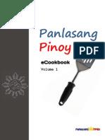 Panlasang Pinoy eCookbook Vol1