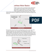 Brushless Motor Basics