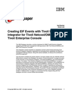 Creating EIF Events With Tivoli Directory Integrator for Tivoli Netcool-OMNIbus and Tivoli Enterprise Console Redp4352