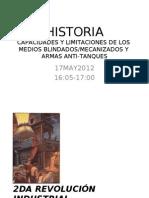 HISTORIA DE LOS BLINDADOS