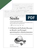Historia Da Profissao Docente Revista Sisifo