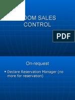 Room Sales Control