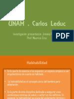 Habitabilidad y arquitectura- Jimena Palomino