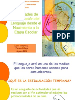 actividadesdeestimulacindellenguajedesdeelnacimiento-110119150205-phpapp02