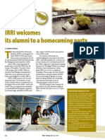 RT Vol. 9, No. 2 IRRI@50