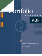 Student Portfolio Builder