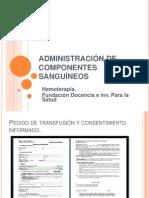 Admin is Trac Ion de Componentes Sanguineosfatsa