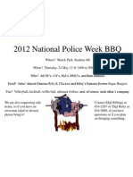Police Week BBQ-1
