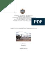 INFORME TRABAJO DISEÑO DE SEPARADOR VERTICAL UGIL