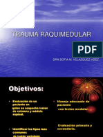 Trauma Raquimedular Presentacion Final