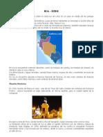 La ciudad de Ica está situada sobre la costa sur de Lima