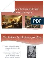 Atlantic Revolutions and Their Echoes 1