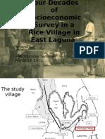 Four Decades of an East Laguna Village