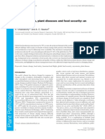 Climate Change, Plant Diseases and Food Security(1)