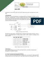 Experiment 7 Serial Port Control - 8251