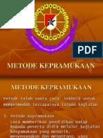 METODE KEPRAMUKAAN