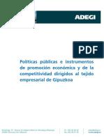 ADEGI Politicas Publicas y Competitividad