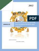 Manual Usuario Software Lindo-programación lineal