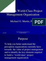 Building a World-Class PMO
