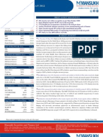 Go Ahead for Equity Morning Note 23 May 2012-Mansukh Investment and Trading Solution
