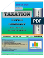 344363 41994 Revision Summary of Income Tax