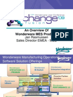 I2 - An Overview of Wonder Ware MES Products - Jan Rasmussen Version 0.92 NXPowerLite
