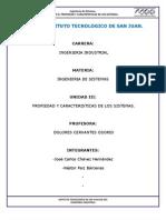 Unidad 3 Propiedad y Caracteristicas de Los Sistemas