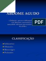 ABDOME AGUDO UFPA
