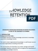 Knowledge Retention Final Ppt