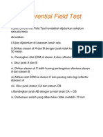 Differential Field Test