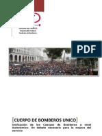 Unificacion de Servicios de Bomberos en España