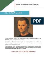 El Principe de Maquiavelo www.iestudiospenales.com.ar