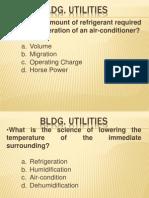 Uapccd Review Notes Bldg. Utilities (Part 3)