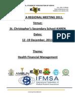 Arm 2011 Financial Proposal