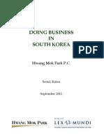 Guide Korea