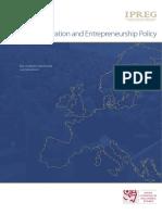Linking innovation and entrepreneurship policy(Eng)/ Conectando la innovación y la política del espíritu empresarial(Ing)/ Berrikuntza eta espiritu enpresarialaren politika lotzen(Ing)