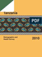 Tanzania Demo Health Survey