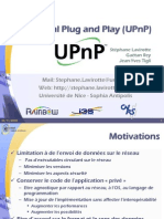 Cours UPnP