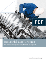 Industrial Gas Turbines en New
