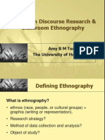 Amy Tsui_Classroom Discourse Research & Ethnography