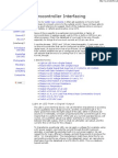Micro Controller Interfacing