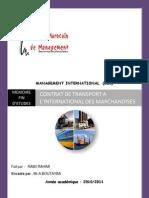 Comp Rend Re Les Termes Du Transport International(2) Derniere Modification