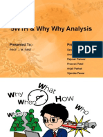 5W1H & Why Why Analysis
