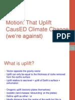 Uplift Climate Change