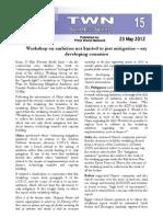 Third World Network – Bonn Update #15