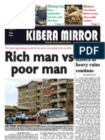 Kibera Mirror May