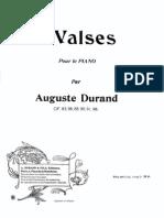 Auguste Durand - Valse No.1