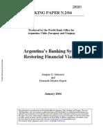 Arjantin Banka Sistemi (WB)